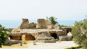 Ruins of the Antonine Baths Stock Photos