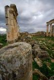 Ruins of Apamea Syria stock photos