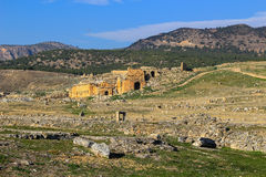 Ruins  in Aphrodisias Turkey Royalty Free Stock Images