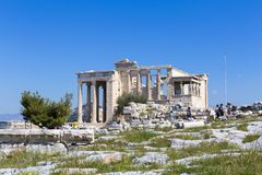 Ruins of Aphrodite temple Stock Image