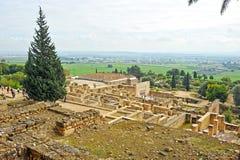 Ruins of the arab city of Medina Azahara, Cordoba, Andalusia, Spain Stock Photos