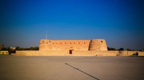 Ruins of Arad fort, Muharraq, Bahrain. Ruins of Arad fort at Muharraq, Bahrain Stock Photo