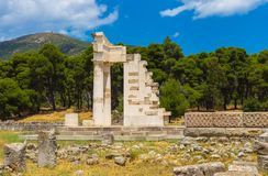 Ruins of Asclepeion, Argolida, Greece Stock Photography