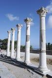 Ruins of Asklepion in Kos Stock Photo