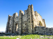 Ruins of Aspendos. In Turkey near Belkis village Stock Photos