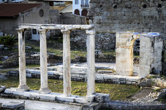 Ruins in Athens. Stock Images
