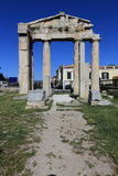 Ruins of Athens, Ancient Agora, Greece Stock Photo
