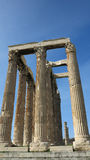 Ruins in athens greece Stock Photography