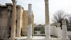 Ruins in athens greece Royalty Free Stock Photography