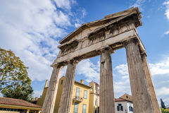 Ruins in Athens Royalty Free Stock Photos