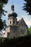 Ruins of the Augustinian Monastery, Pivon, Czech republic Stock Image