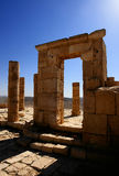 Ruins of Avdat. Ruins of the Nabatean city of Avdat, Israel Royalty Free Stock Images