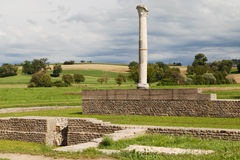 Ruins of Aventicum Stock Images