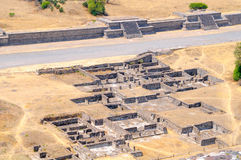 Ruins Avenue of the Dead, Teotihuacan Stock Image
