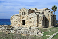 Ayios Philion church Royalty Free Stock Photos