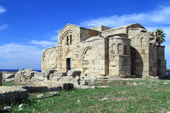 Ruins of Ayios Philion Stock Image