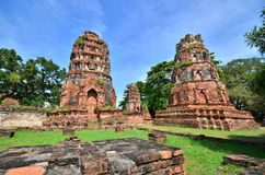 Ruins from Ayuthaya Royalty Free Stock Image