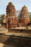 Ruins of Ayutthaya Stock Photos