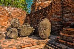 Ruins of Ayutthaya Royalty Free Stock Photo