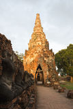 Ruins of Ayutthaya. Thailand, has a beautiful object Royalty Free Stock Photos
