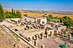 Ruins of  Azahara ancient city near Cordoba, Spain. Stock Image