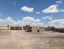 Ruins of Azraq Castle,  central-eastern Jordan Stock Image
