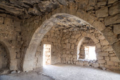 Ruins of Azraq Castle,  central-eastern Jordan, 100 km east of Amman Stock Photos