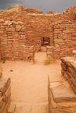 Ruins in Aztec New Mexico Stock Photo
