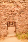 Ruins in Aztec New Mexico Stock Photos