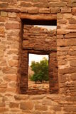 Ruins in Aztec New Mexico Royalty Free Stock Photo