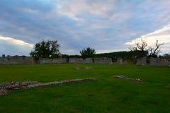 Ruins of Baconsthorpe castle, Norfolk, England, United Kingdom Royalty Free Stock Photography