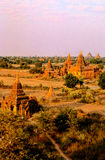Ruins of Bagan- Burma (Myanmar) Stock Photos