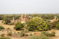 Ruins of Bagan, Myanmar royalty free stock images