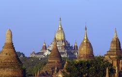 The ruins of Bagan ( Pagan ) Royalty Free Stock Photos