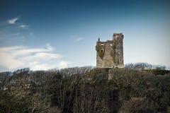 Ruins of Ballinalacken Castle. In Co. Clare, Ireland Royalty Free Stock Photo