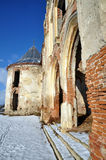 The ruins of Banffy Castle in Bontida, Romania Royalty Free Stock Image