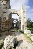 Ruins of the baptistery, St Simeon Royalty Free Stock Images