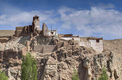 Ruins at Basgo Monastery Royalty Free Stock Photos