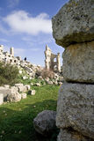 Ruins of the Basilica of Saint Simeon, Syria Stock Photography
