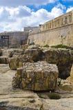 Ruins Bastions Royalty Free Stock Image