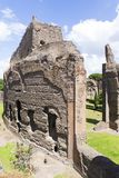 Ruins from Baths of Caracalla Stock Photography
