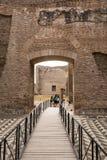 Ruins of the Baths of Caracalla - Terme di Caracalla Royalty Free Stock Photo