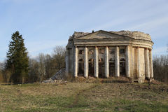 The ruins of a beautiful ancient palace. The ruins of a beautiful ancient palace Royalty Free Stock Photos