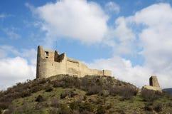 Ruins of Bebris Tsikhe Fortress near Mtskheta ,Georgia,Caucasus Royalty Free Stock Images