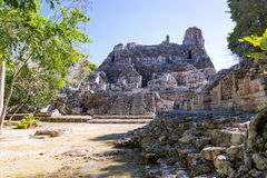 Ruins in Becan, Mexico Royalty Free Stock Photo