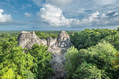 Ruins of Becan, Yucatan, Mexico Stock Image