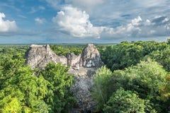Ruins of Becan, Yucatan, Mexico Stock Image