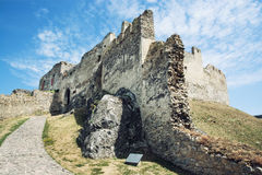 Ruins of Beckov castle, Slovak republic Royalty Free Stock Photo