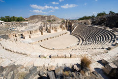 Ruins of Beit She'an Royalty Free Stock Photography