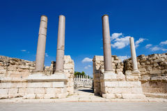 Ruins of Beit She'an Royalty Free Stock Images